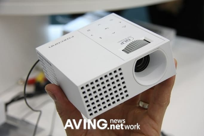 Foxconn shows off pint-sized PD-S2900 DLP projector
