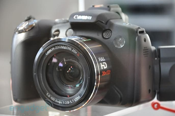 Canon PowerShot SX1 and company eyes-on