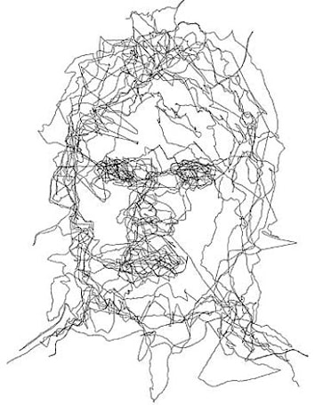 Another position artist emerges from woodwork, traces face via GPS
