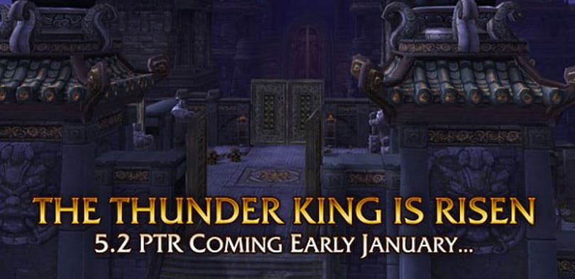 Patch 5.2 PTR notes for February 5th