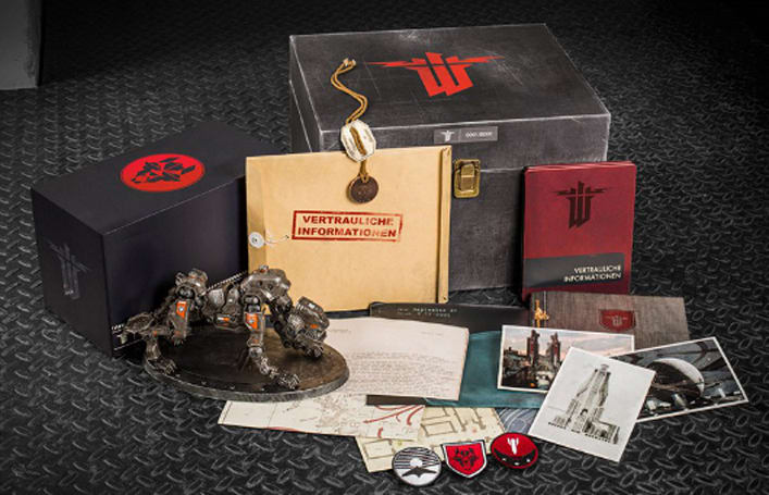 Wolfenstein Panzerhund Edition includes everything but the game