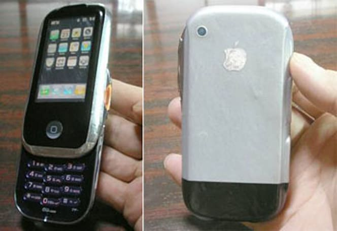 Fanboy converts Sony Ericsson W52S into iPhone, say hello to iFailphone