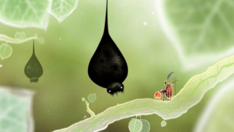 Machinarium dev's beautiful bug game, Botanicula, on iPad May 1