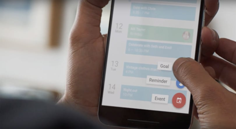 Google Calendar wants you to achieve your goals
