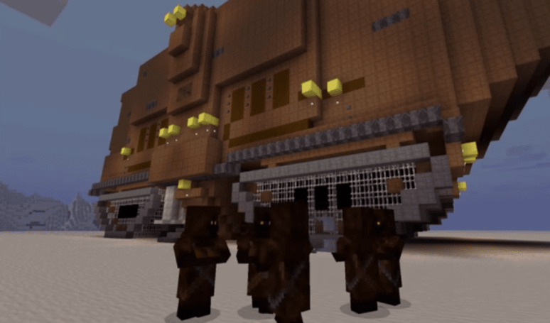 Just breathe, Star Wars: A New Hope in Minecraft is coming