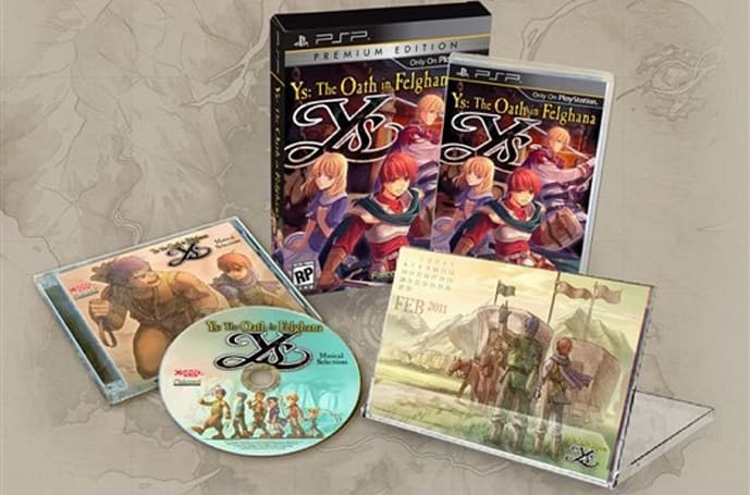 Ys: The Oath in Felghana in stores and on PSN Nov. 2