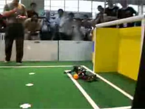 RoboCup footage roundup