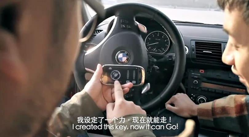 BMW gets Nokia C7 remote control, James Bond can eat his heart out (video)