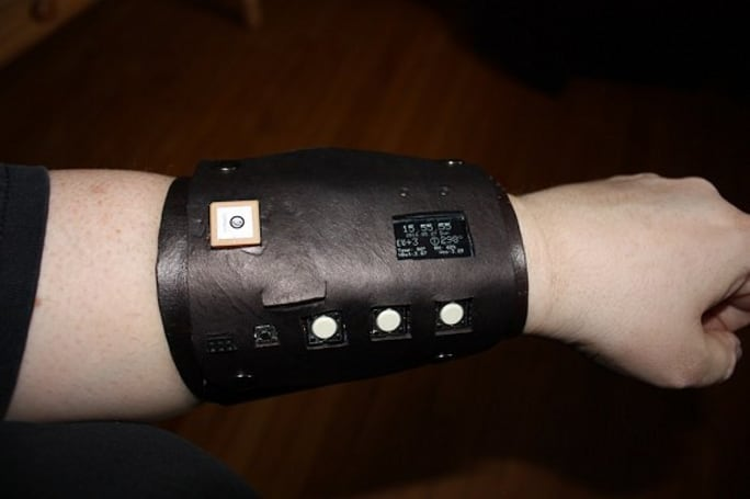 Adafruit modder builds Captain Jack's Vortex Manipulator / Leela's wrist-lo-jacko-mator for real