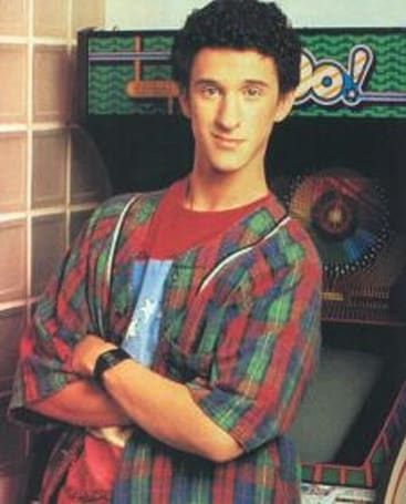 Saved by the Bell's Screech mugged