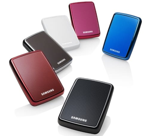 Samsung S2 Portable hard disk does the 7,200RPM bump with USB 3.0