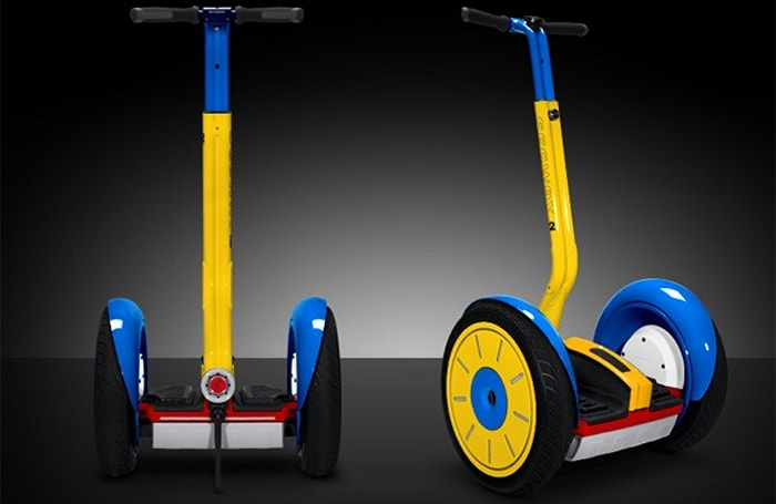 Segway i2 suffers ultimate indignity at the hands of Colorware (video)