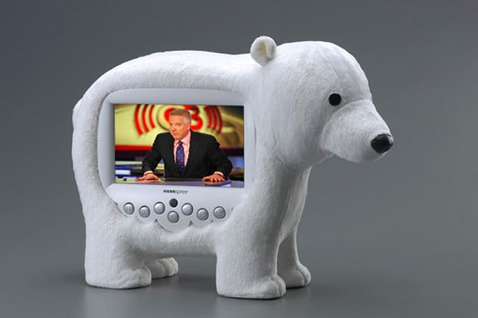HANNSpree debuts line of plush TVs for tasteless tots