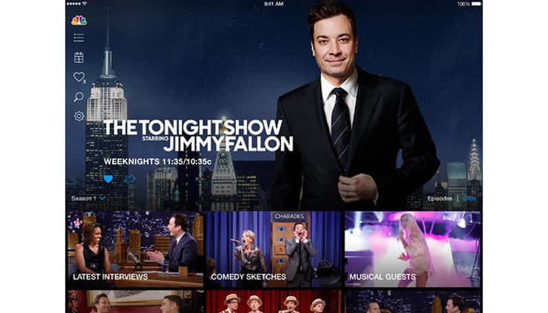 NBC's iOS app can now send shows to your TV, sort of