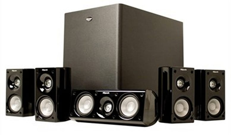 Engadget's recession antidote: win a Klipsch HD Theater 500 sound system!