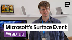 What happened at Microsoft's Surface event