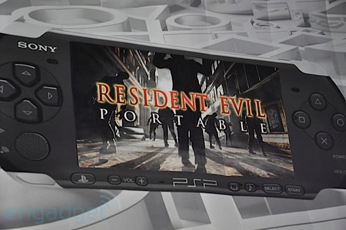 Capcom promises 'totally different' gameplay for Resident Evil Portable