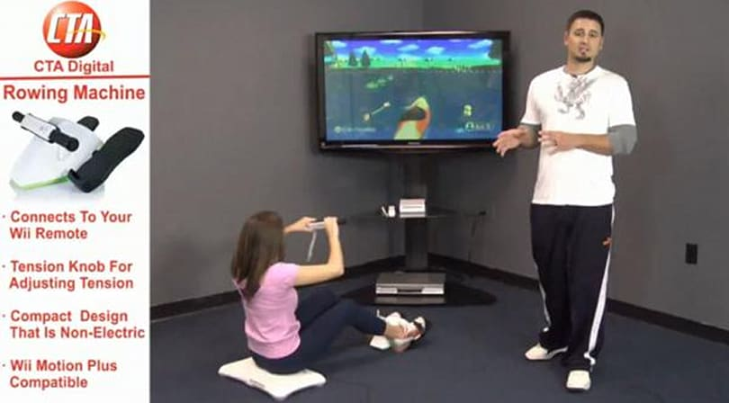 Wii Rowing Machine aims to sculpt abs, achieves belly laughs (video)