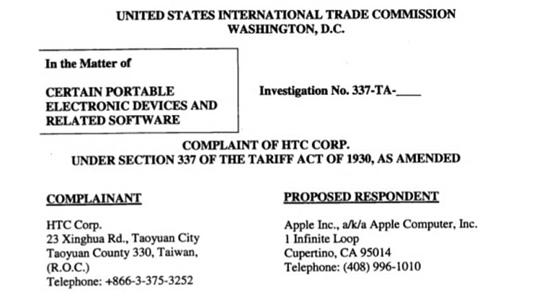 ITC closes the book on HTC's first complaint against Apple, still working on its sequels