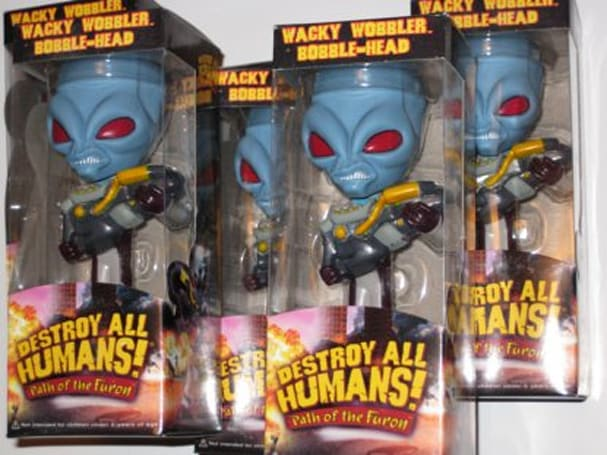 Fanswag: Destroy All Humans bobbles [update]