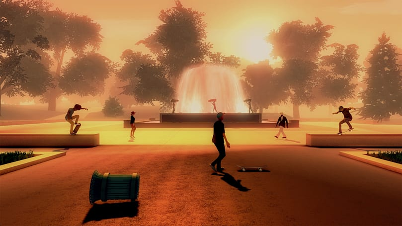 The developers of 'Alto's Adventure' are building a skateboarding game