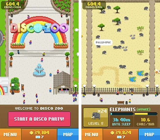 Daily App: Disco Zoo lets you rescue animals and throw them a 70s party