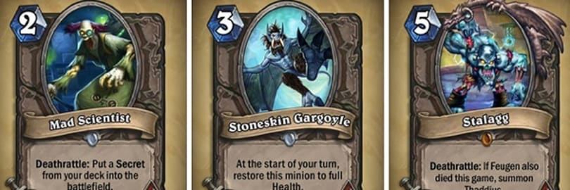 Latest Curse of Naxxramas cards revealed, and more coming! [Updated]