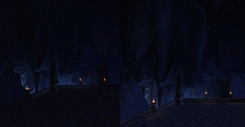 Looking at the brighter Moria in Lord of the Rings Online