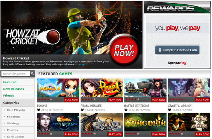 Friendster reborn as a gaming site, wishes Facebook cared