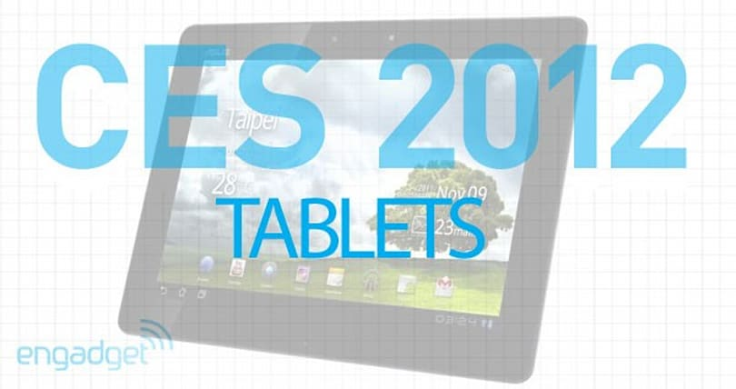 CES 2012: tablet roundup