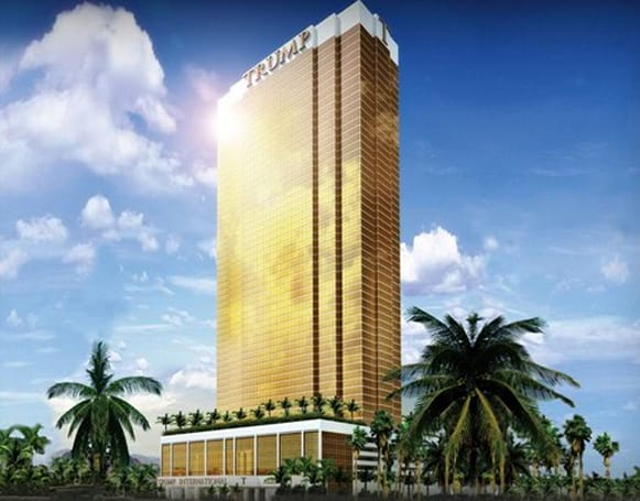 Trump's Las Vegas Hotel / Tower gets Cox HDTV, LG LCDs