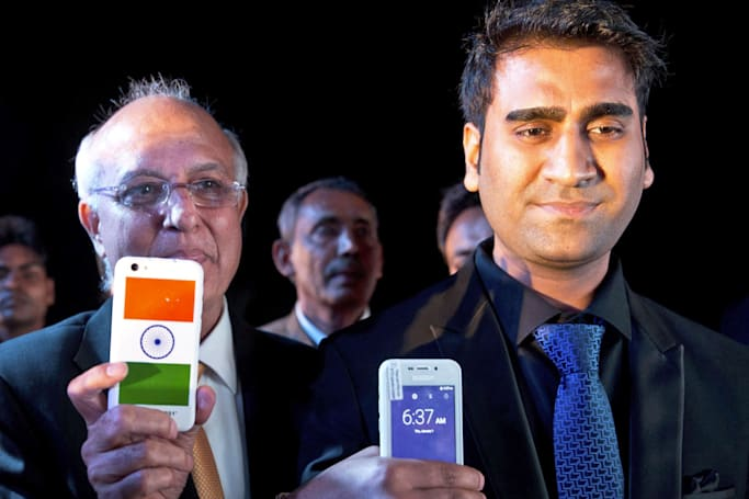 India's $4 smartphone arrives June 30th