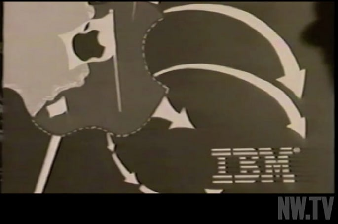 Bizarre internal Apple video shows Steve Jobs rallying the troops against IBM