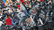 Dutch sports authority may track hooligans by fingerprint, GPS