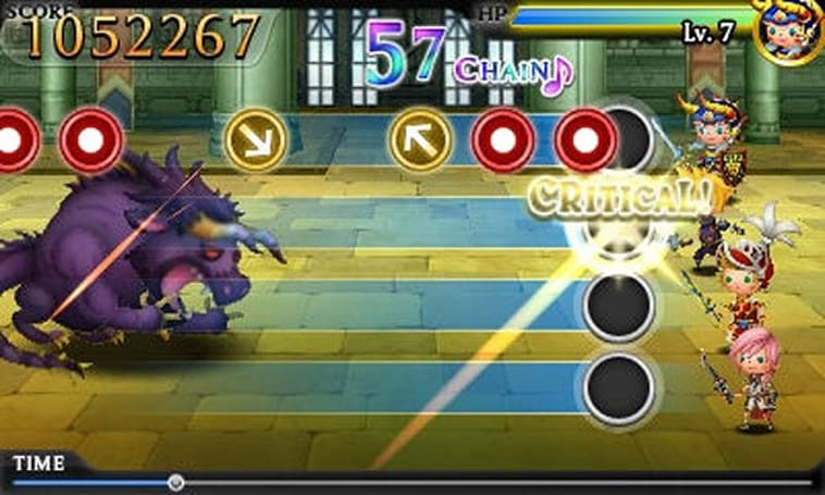 Theatrhythm Final Fantasy coming from Electroplankton devs, features characters from I - XIII