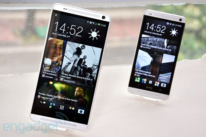 HTC One max heading to Verizon today for $300 on-contract