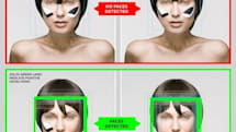 Student thwarts face detection software with 'CV Dazzle' makeup