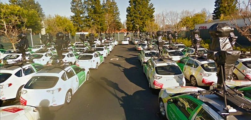 Visualized: Google Street View car fleet gets ready to conquer (and map) the world