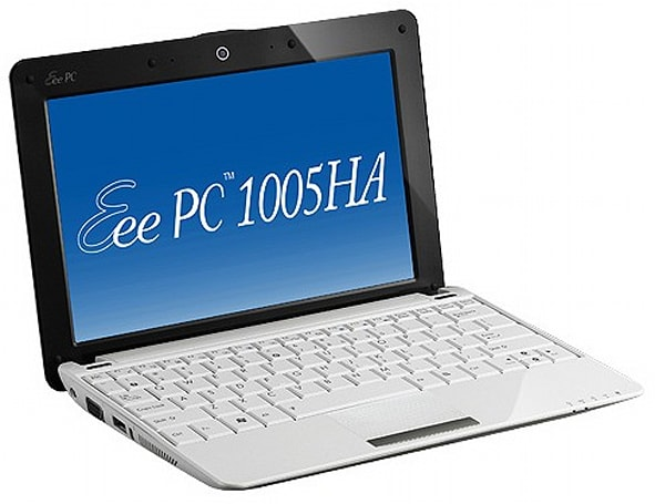 ASUS delivers full specs on Eee PC 1005HA Seashell