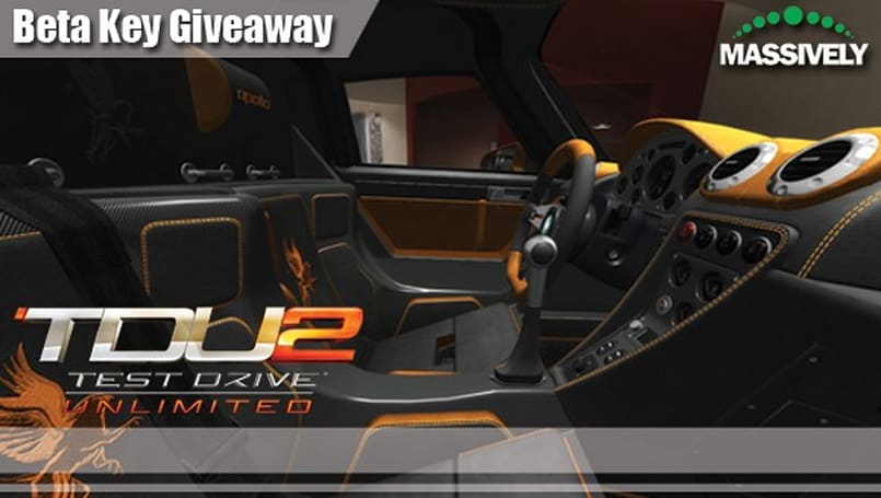 Put the pedal to the metal with a beta key for Test Drive Unlimited 2's beta event this weekend