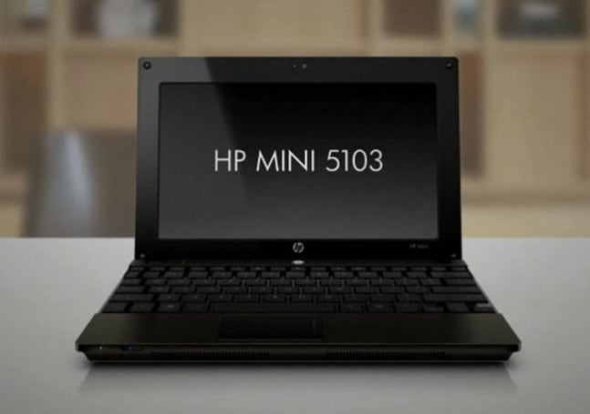 HP rolls out Mini 5103 business netbook with optional touchscreen, SSD