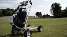 Video: Mantys golf caddy wants to electrify your game