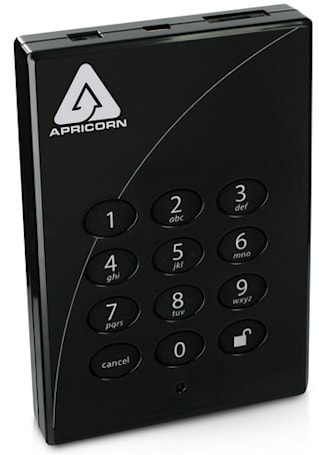 Apricorn's Aegis Padlock Secure USB HDD goes Pro, solid state