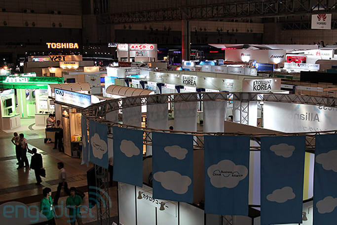 CEATEC 2012 wrap-up: concept cars, eye-tracking tech and motion sensors galore