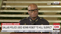 Dallas' bomb robot sparks debate around police militarization