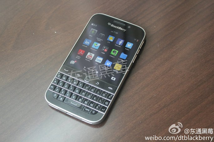 BlackBerry's upcoming 'Classic' smartphone looks like this