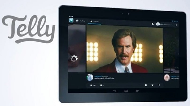 Telly video discovery app now optimized for Android tablets