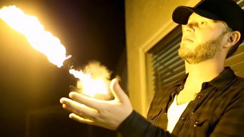 Pyro Mini turns your boring old wrists into flamethrowers