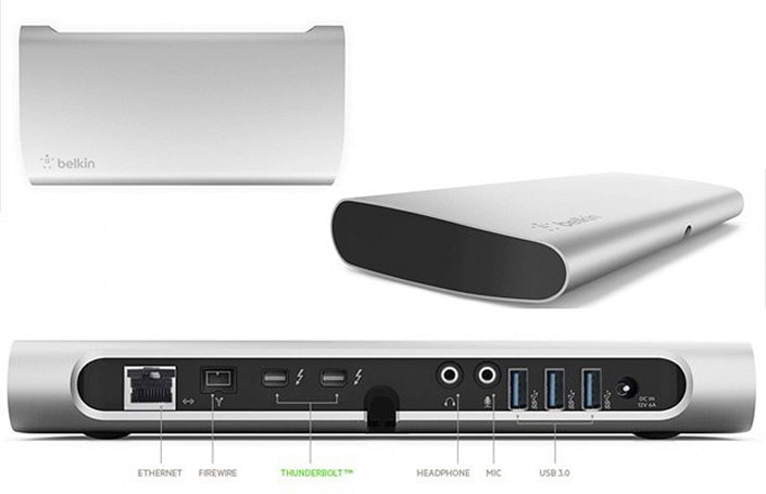 Belkin's $299 Thunderbolt Express dock now up for pre-order, shipping next week