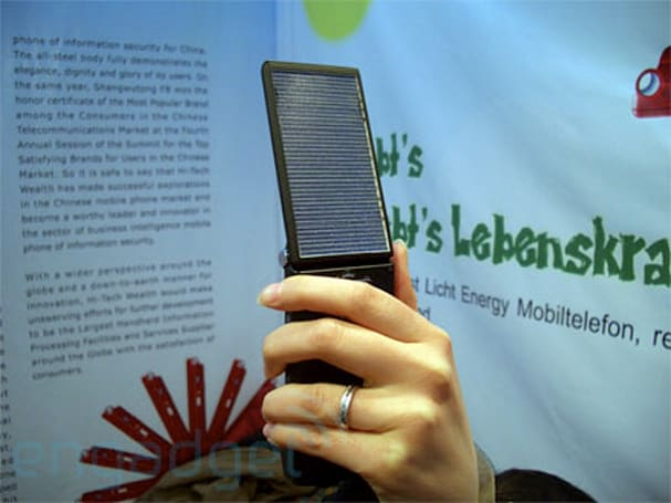 Hands-on with Hi-Tech Wealth's solar powered S116